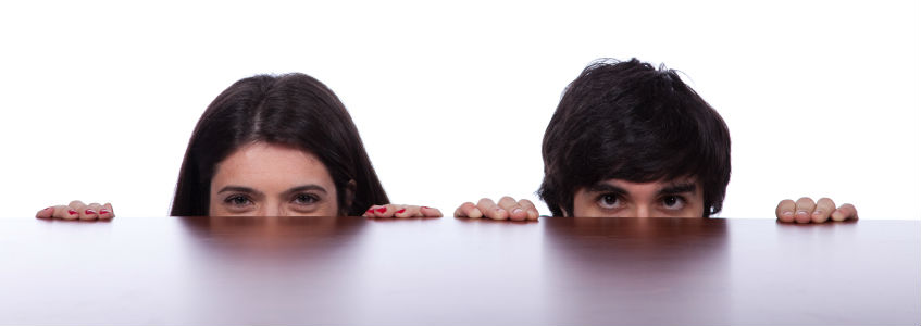 People hiding