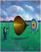 Sales funnel target
